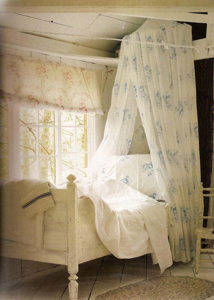 Ahh...peaceful...cottage bedroom
