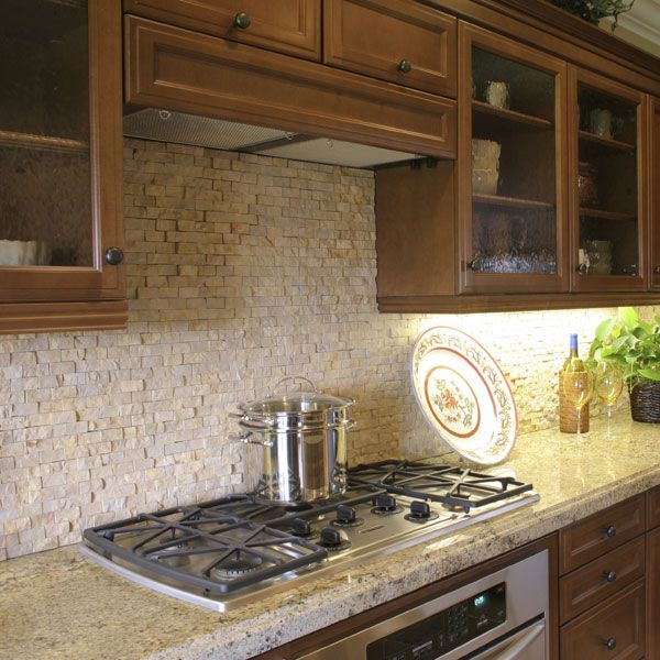 Granite Kitchen Countertops With Backsplash: Best 25+ Travertine Backsplash Ideas On Pinterest