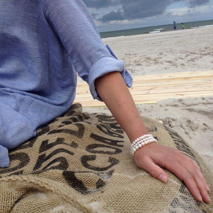 #sweetpearls #bracelet #jewelery #pearls #style #design