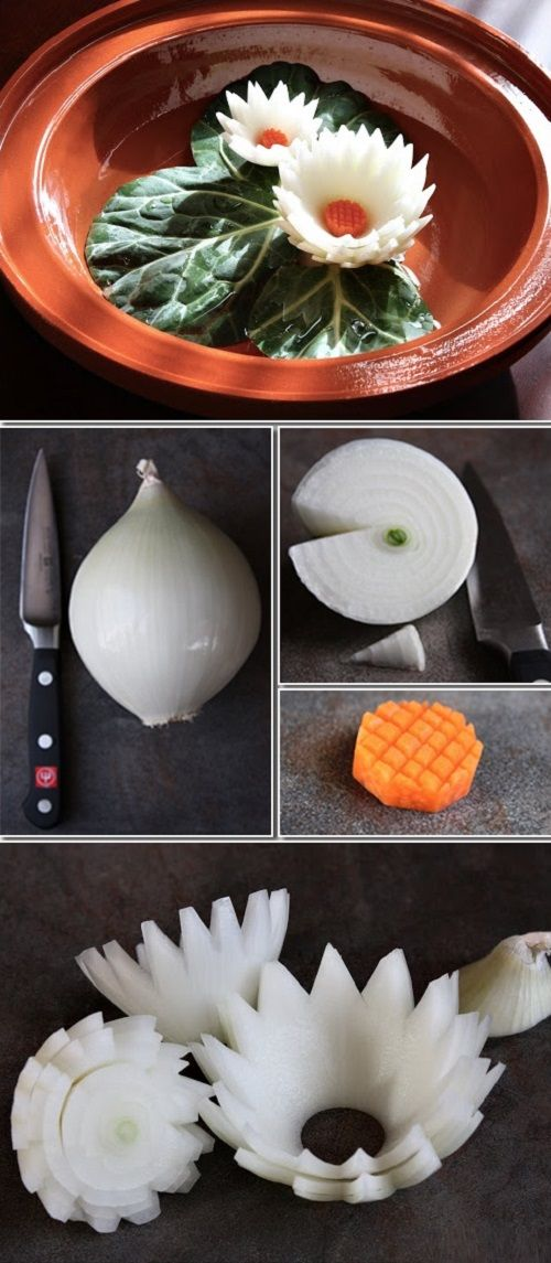 decorate onion