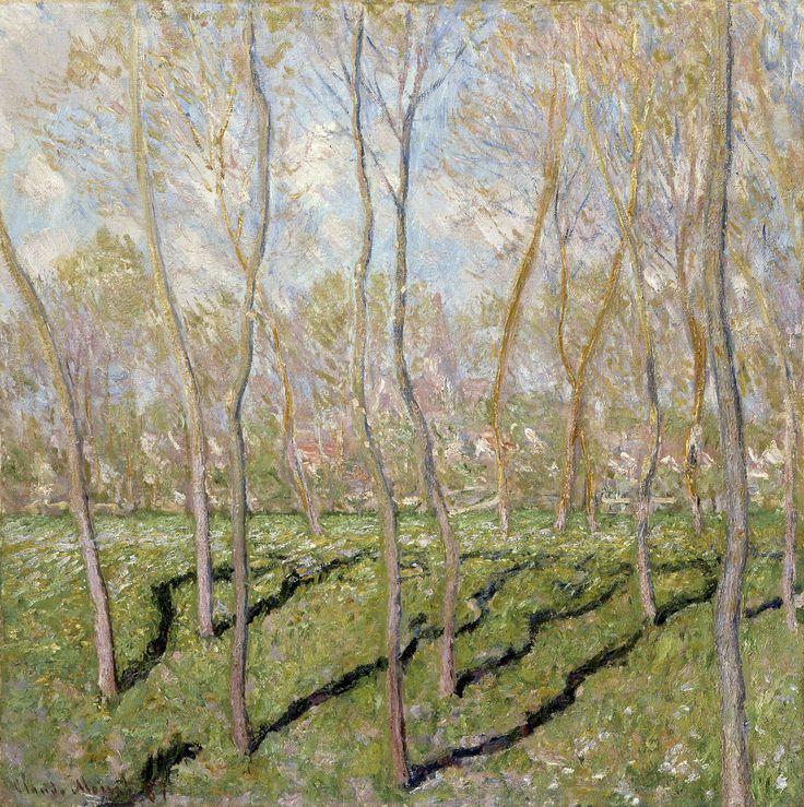 https://flic.kr/p/WdH1v3   Claude Monet - View of Bennecourt [1887]   [Columbus Museum of Art - Oil on canvas, 81.6 x 81.6 cm]