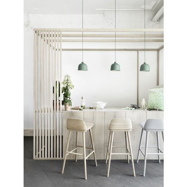 Grain Pendant By Muuto Muu 21066 In 2020 Kitchen Bar Stools Interior Home Decor