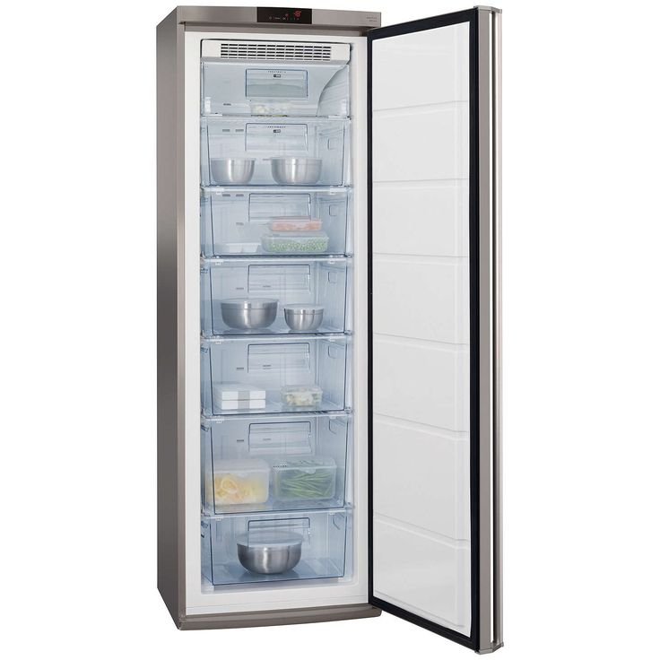 BuyAEG A72710GNX0 Tall Freezer, A++ Energy Rating, 60cm Wide, Stainless Steel Online at johnlewis.com