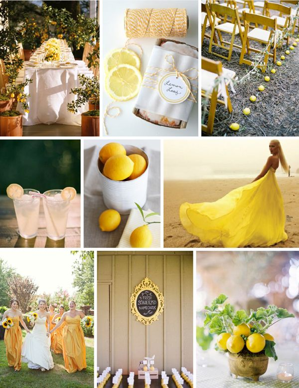 When I re-new my vows to my love it will be in a yellow dress like this! :)