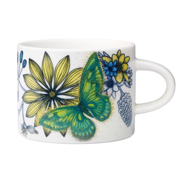 Arabia Runo cup 0,28 l, Butterfly