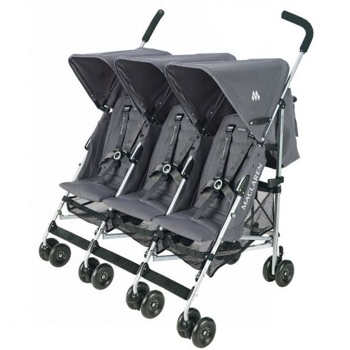 W H Watts Triple Triumph Pushchair