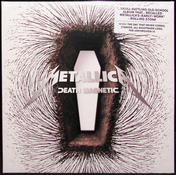 Northern Volume - Metallica - Death Magnetic (Vinyl 2LP Record), $26.95…