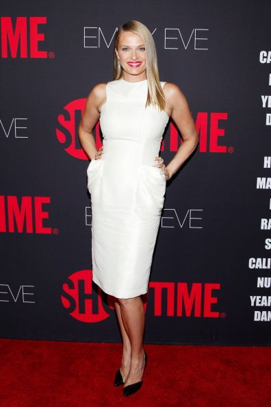 Vinessa Shaw at the Showtime 2014 Emmy Eve Soiree. Styled by Anita Patrickson.