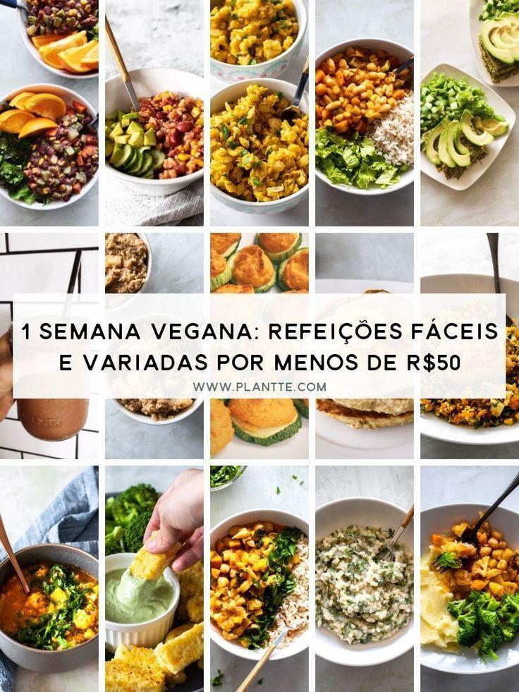 Uma semana vegana: refeições fáceis e variadas por menos de US $ 50   – joey dosen't share food