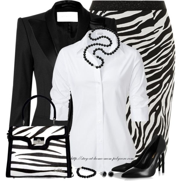 """""""Zebra"""" by stay-at-home-mom on Polyvore"""
