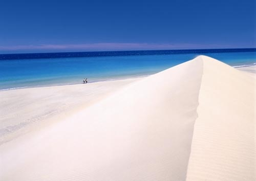 Jandia, Fuerteventura. Visited here for the day whilst staying on the island. I remember the whiteness of the sand and how hot it was!!