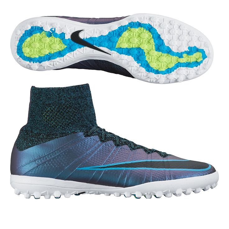 Beat them with speed. Get into the Nike MercurialX Proximo turf soccer shoes to dominate. Featuring Nike Flywire, Flyknit, and a dynamic fit collar, these FootballX shoes are downright deadly. Order your new pair of turf soccer shoes today at SoccerCorner.com!  http://www.soccercorner.com/Nike-MercurialX-Proximo-TF-Turf-Soccer-Shoes-p/st-ni718775-400.htm