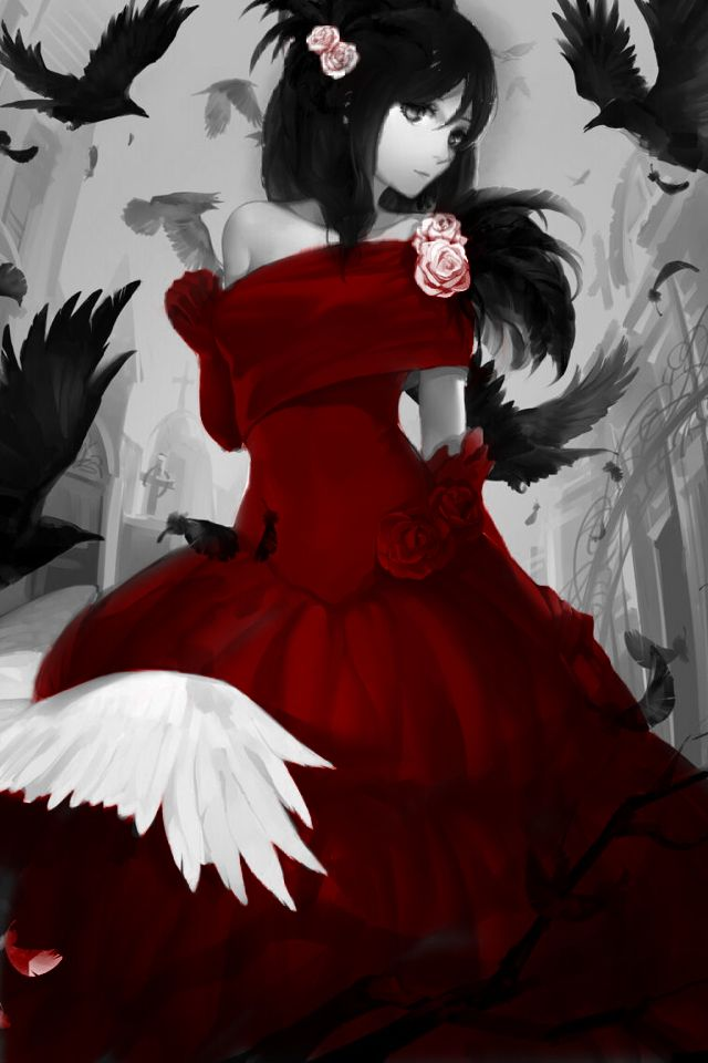 Pinterest the world s catalog of ideas - Red and black anime ...