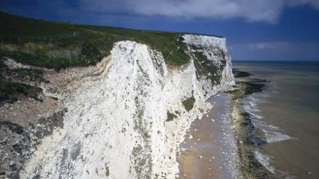 Clifftop at Langdon Cliffs, White Cliffs of Dover