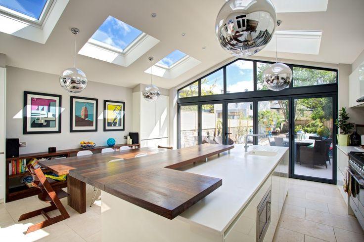 Landmark Lofts home extension lighting
