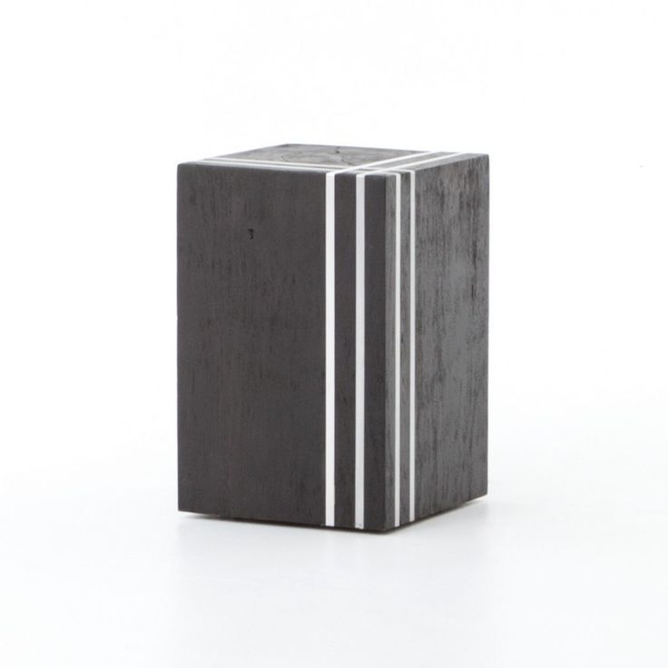 Grass Roots Kessler Stool-Black/Stainless JLAN-111 by Four Hands - Four Hands Grass Roots Kessler Stool-Black/Stainless JLAN-111The stump stool made modern. Purposefully cracked mango wood is deeply stained in ebony and inlaid with asymmetrically placed linear iron strips. Hidden casters offer easy movement.From the Grass Roots Collection, Bring the outdoors in with natural textures and modern lines. All-natural banana and abaca leaf weave creates dynamic contrast with modern and…