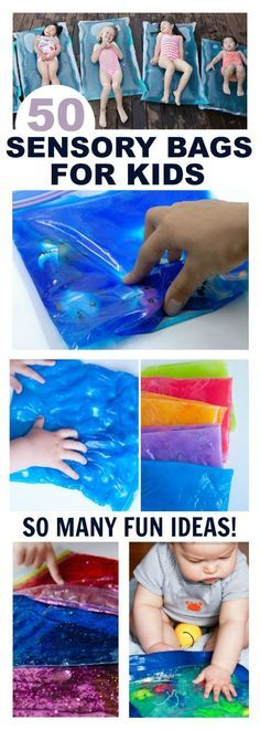 A vast resource of over 50 sensory bags for kids! Great ideas for almost every subject!