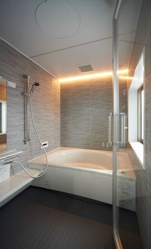 【新築】斬新なバスルームに一目惚れ | 新築 | ご採用事例 | ココチーノ | システムバスルーム・浴室関連商品 | Panasonic