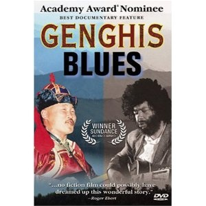 """Genghis Blues (1999) 88min: The extraordinary odyssey of a U.S. musician of Cape Verdean ancestry to Tannu Tuva, in central Asia, where nomadic people throat sing more than one note simultaneously, using vocal harmonics. A bluesman, Paul Pena, blind and recently widowed, taught himself throat singing and was by chance invited to the 1995 throat-singing symposium in Kyzyl. Helped by the """"Friends of Tuva,"""" Pena makes the arduous journey. Singing in the deep, rumbling kargyraa style, Pena…"""