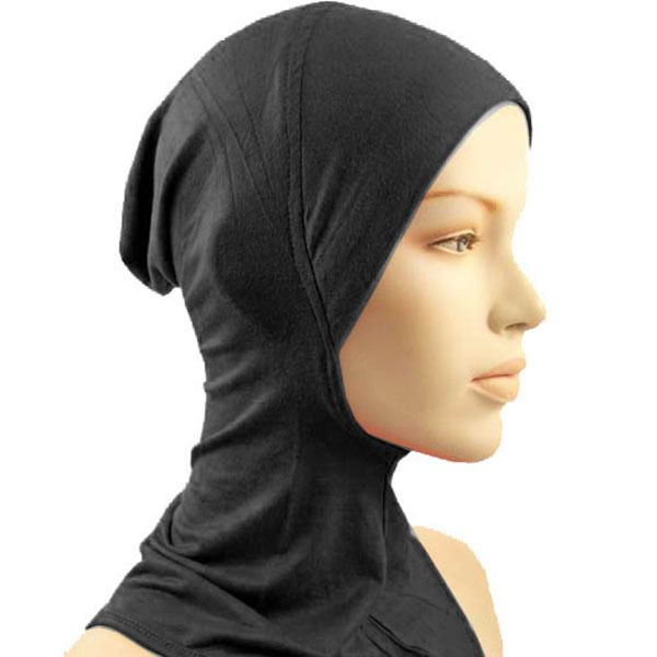 Under Scarf Hat Cap Bone Bonnet Ninja Hijab Islamic Neck Cover Muslim  Wrap Scarf Colors
