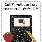 Daily Math Journals are a great way to review reinforce math concepts in a creative way.  This download includes math journal labels, instruction...