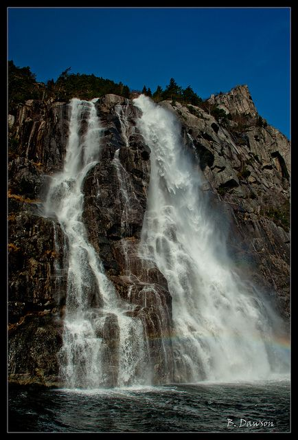 Whiskey Falls -- Right outside Stavanger, Norway (Where I live!)