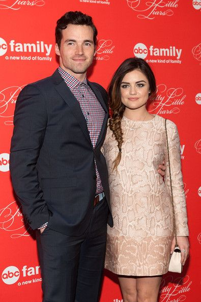Ian Harding and Lucy Hale - 'Pretty Little Liars' Screening in NYC #Ezria