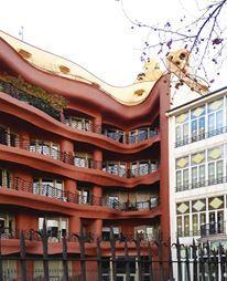 Hidden face of Mila House - Gaudí   Taken by 08023 Architects - Barcelona   #Architects #Gaudi