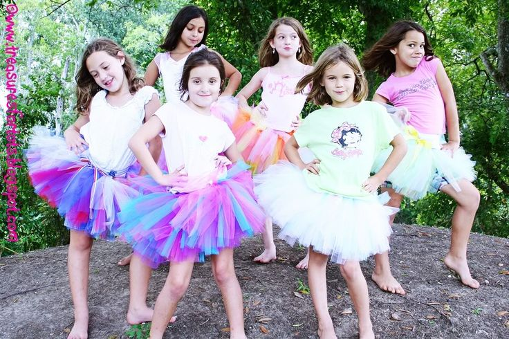 Cut tulle for tutus quick and easy