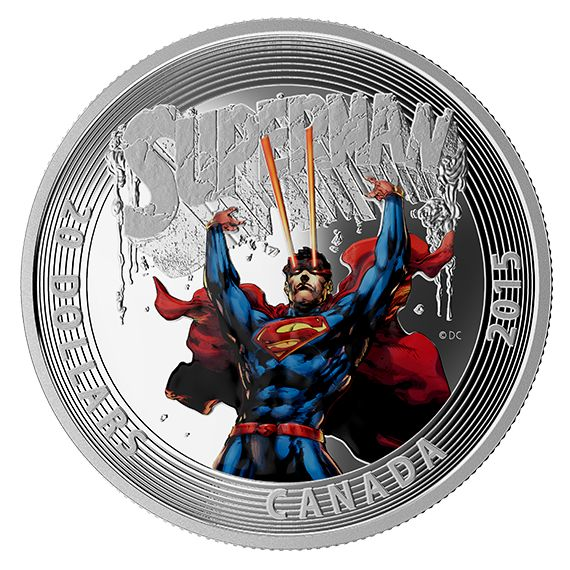 1 oz. Fine Silver 3-Coin Subscription - Iconic SupermanTM Comic Book Covers (2015)