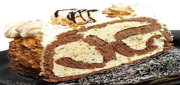 Chocolate and Walnut Cake
