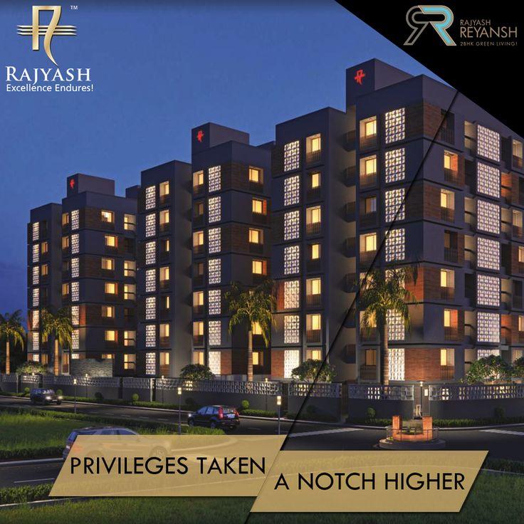 Located in close proximity to popular hospitals, schools & industrial estates, #RajyashReyansh promises residents a haven of peace and tranquility.  #RajyashCity #RajYashGroup #RajYash #SouthVasna #Ahmedabad