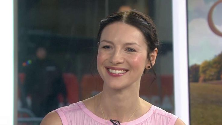 "Video of Caitriona Balfe on The Today Show - Caitriona Balfe stars in TV's ""Outlander,"" which is about to return for its highly anticipated second season. She plays Claire, a World War II nurse who was transported through time to 18th-century Scotland, and she talks about how her costar Sam Heughan was obsessed with the fake pregnancy belly she wore for the show."
