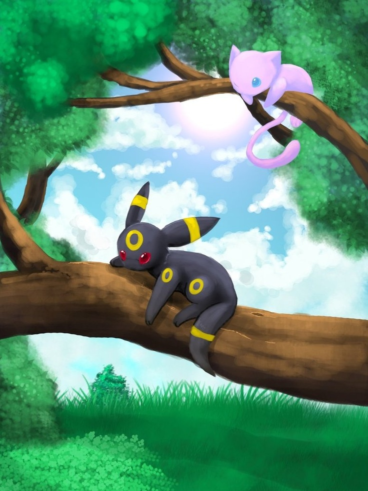 Mew And Umbreon 302 best images about ...