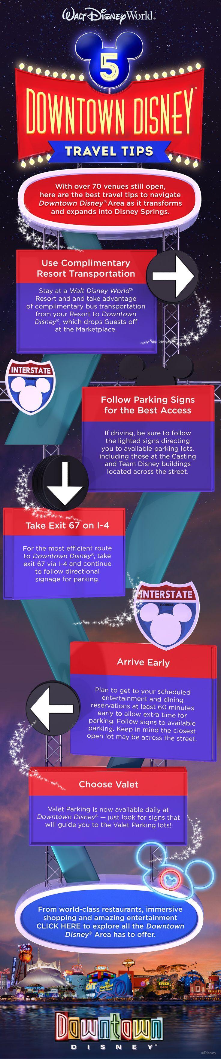 5 Downtown Disney Travel Tips Info