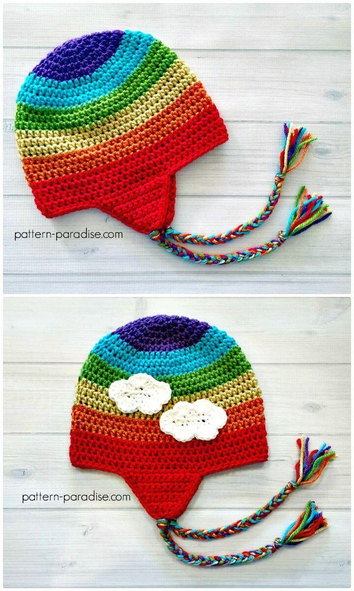 Easy Free Crochet Earflap Hat Pattern - 14 Free Crochet Earflap Hat Patterns - DIY & Crafts