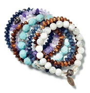 Layer up Bracelets - one of Ashley Greene's Favorite Accessories this summer!