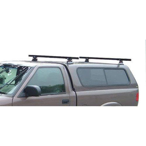 Universal Pickup Topper M1000 Ladder rack w 60 Bar Steel Black ** Learn more by visiting the image link.