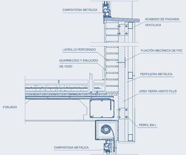 17 mejores ideas sobre fachadas ventiladas en pinterest - Dimensiones ladrillo cara vista ...