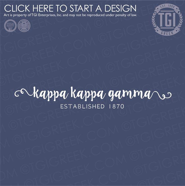 Kappa Kappa Gamma | KKΓ | PR | Sorority PR | PR Shirt | TGI Greek | Greek Apparel | Custom Apparel | Sorority Tee Shirts | Sorority T-shirts | Custom T-Shirts