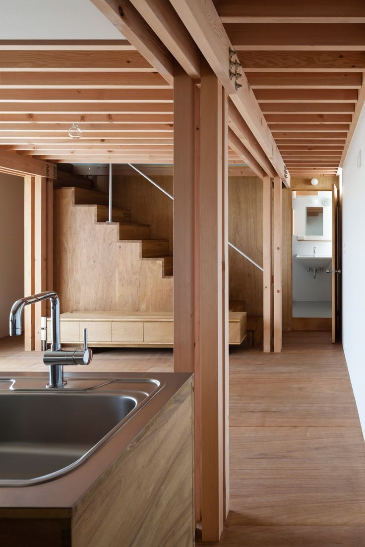 "kazu721010: "" 4 Columns Tokyo House / FT Architects """