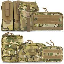 Bulldog Tactical Military Army Cadet Airsoft Modular MOLLE Pouch MTP Multicam