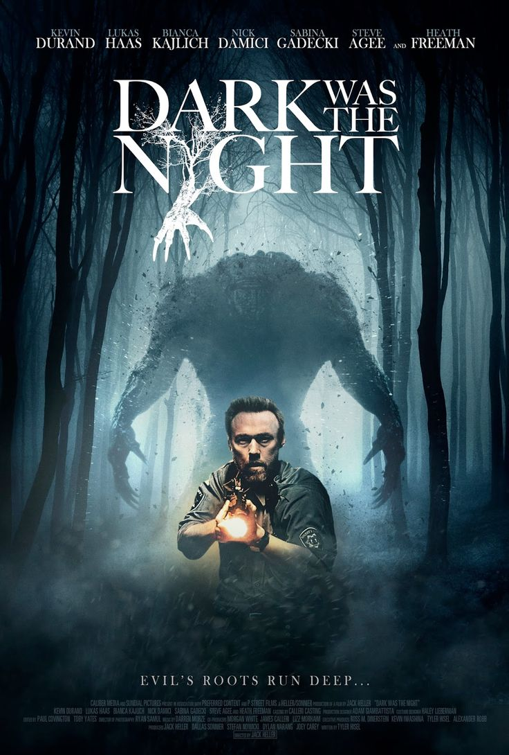 Dark Was The Night 2015 Horror Movie Posters Horror Movies Scary Movies