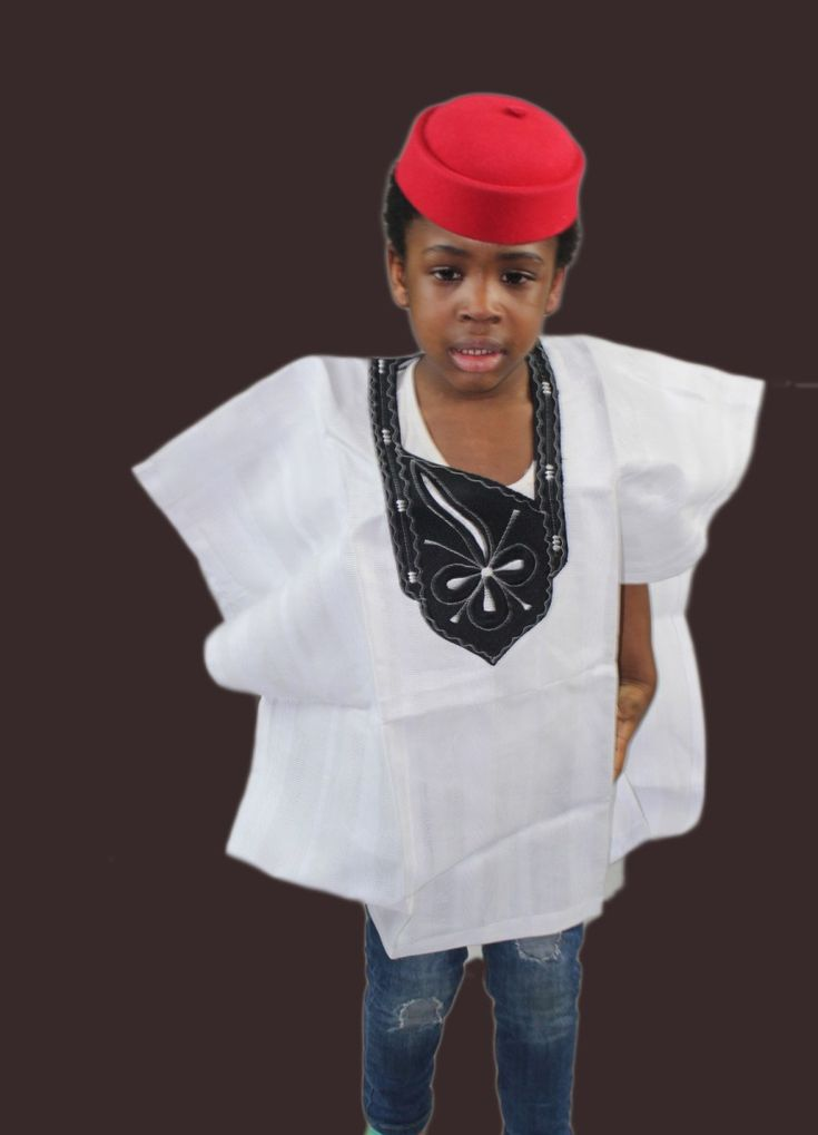 Boys African Attire for 4-5yrs old