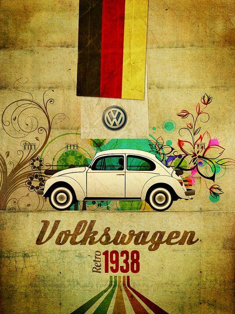 VW beautiful poster