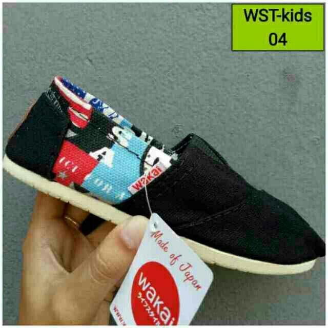 Saya menjual Sepatu wakai kids seharga Rp75.000. Dapatkan produk ini hanya di Shopee! https://shopee.co.id/dhiefunshop/234817414 #ShopeeID