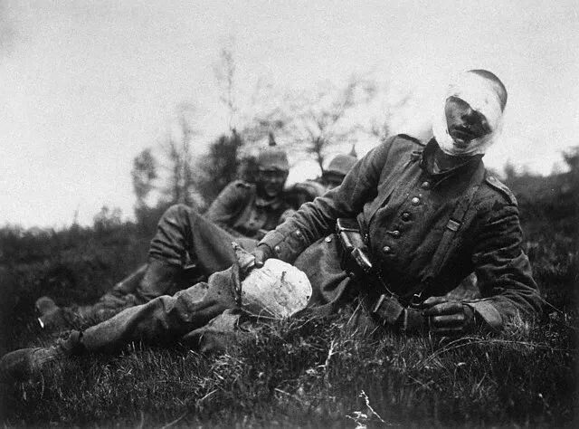 Wounded German