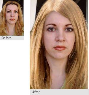 Natural dark blonde