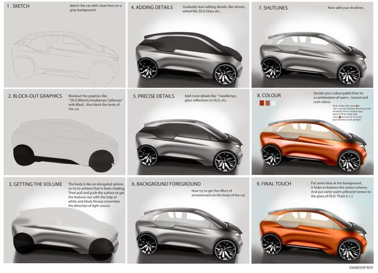 28 Best Car Design Tutorials Images On Pinterest Car Cars And Draw