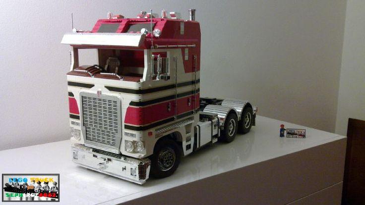 Brick Loft Lego Kenworth K200 Australia truck by Sephirot8082 http://www.mocpages.com/moc.php/401989